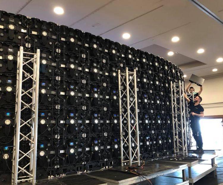 Montaje de pantallas para eventos en Málaga