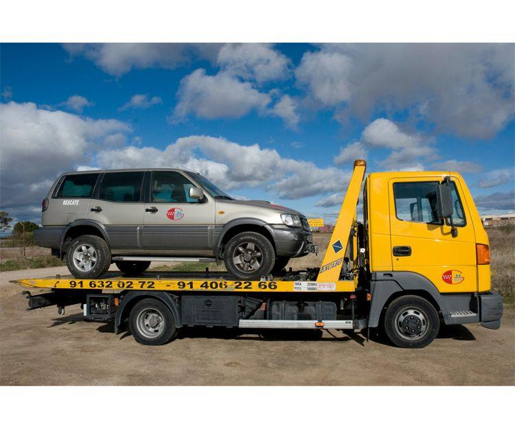 Grúas para vehículos en Griñón