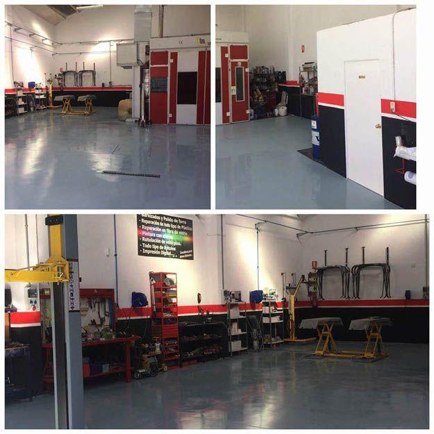 Interior de nuestro taller mecánico en Linares