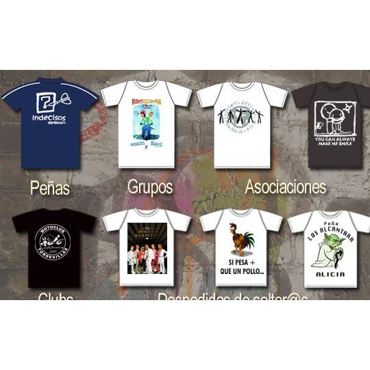 Camisetas: Servicios de Mentor Serigrafía