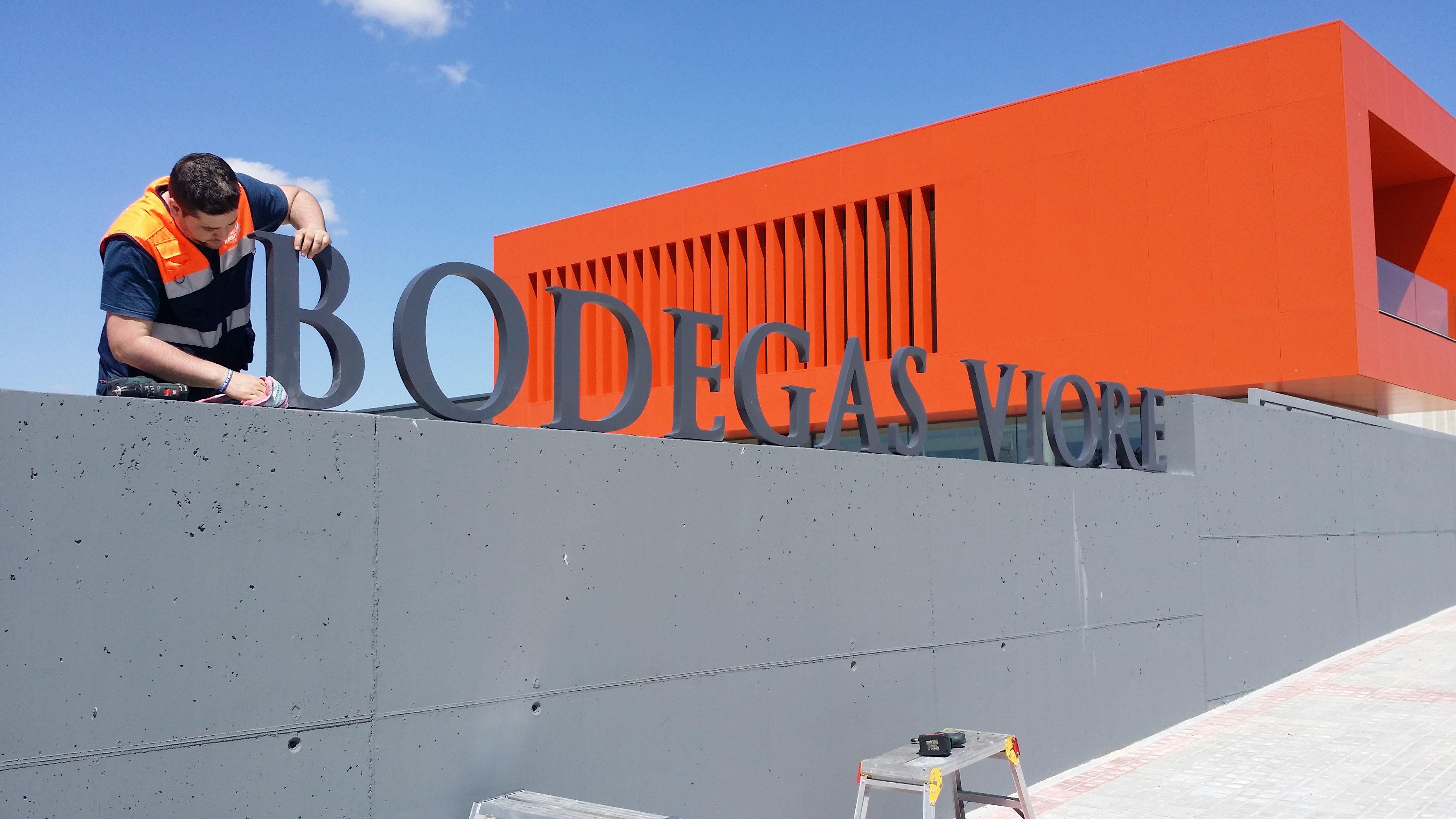 Letras corpóreas en Valladolid