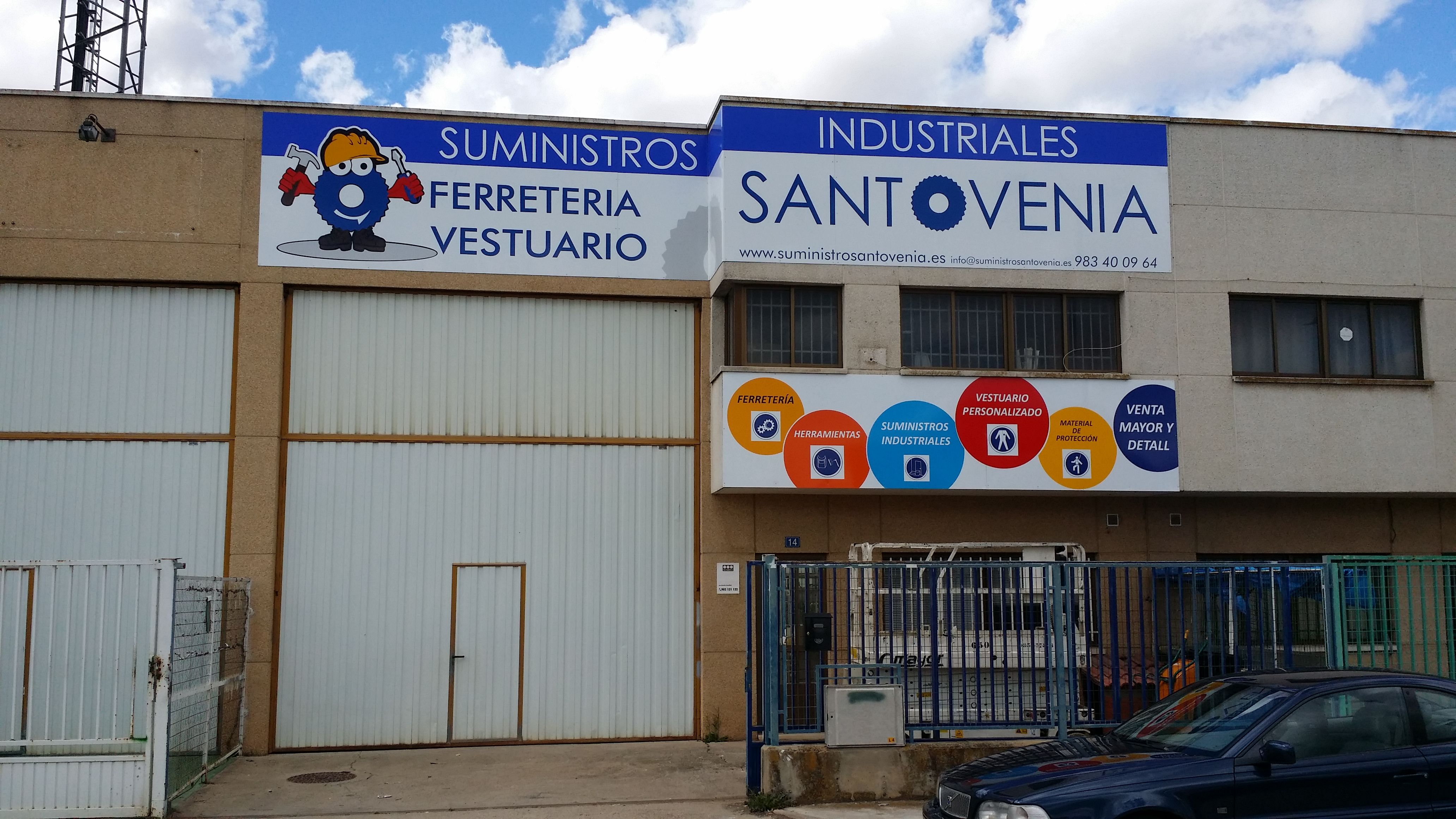 Rotulación fachadas Valladolid