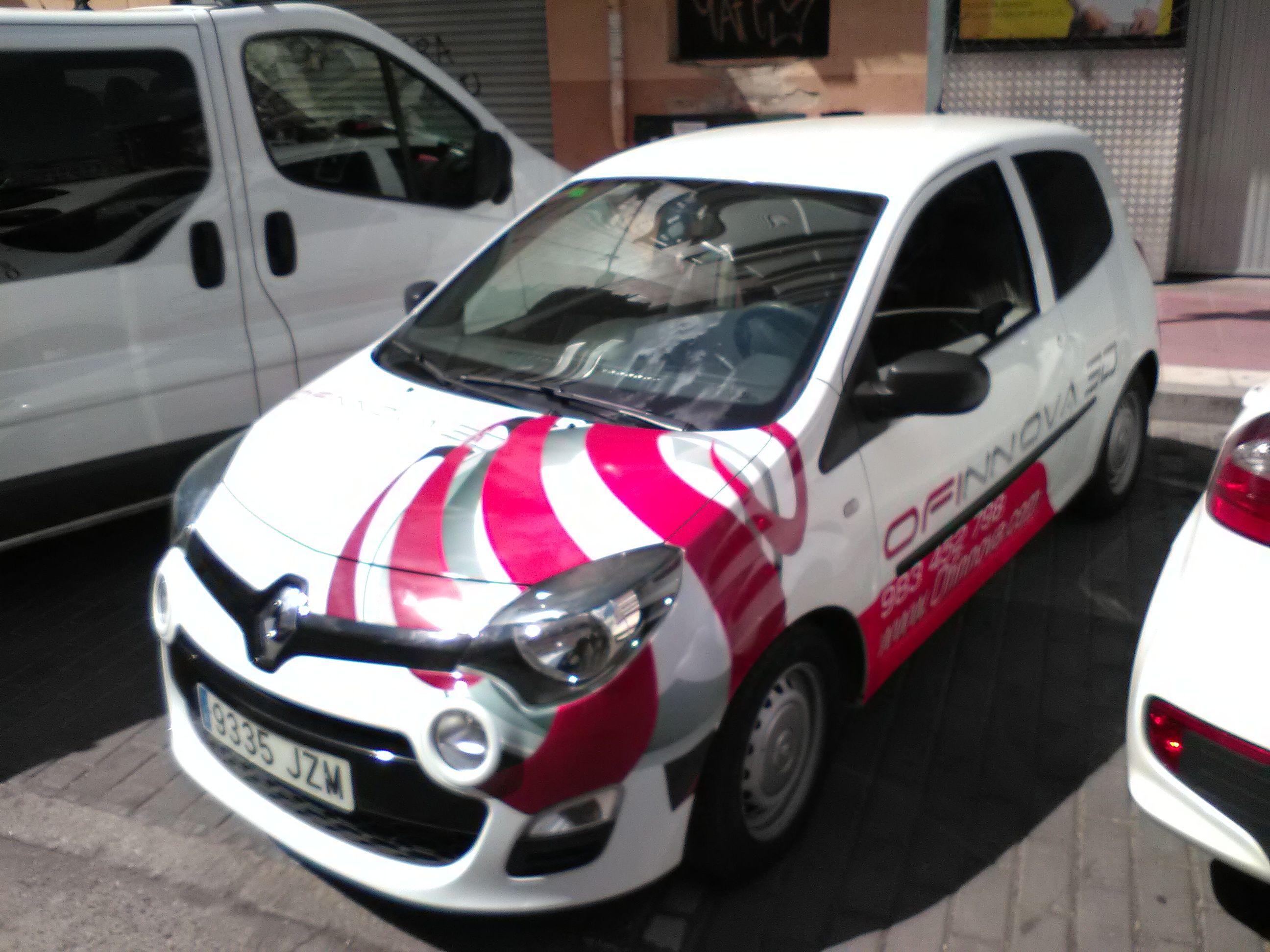 Rótulos para vehículos en Valladolid