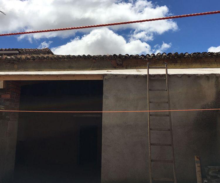 Trabajos de rehabilitación de tejados