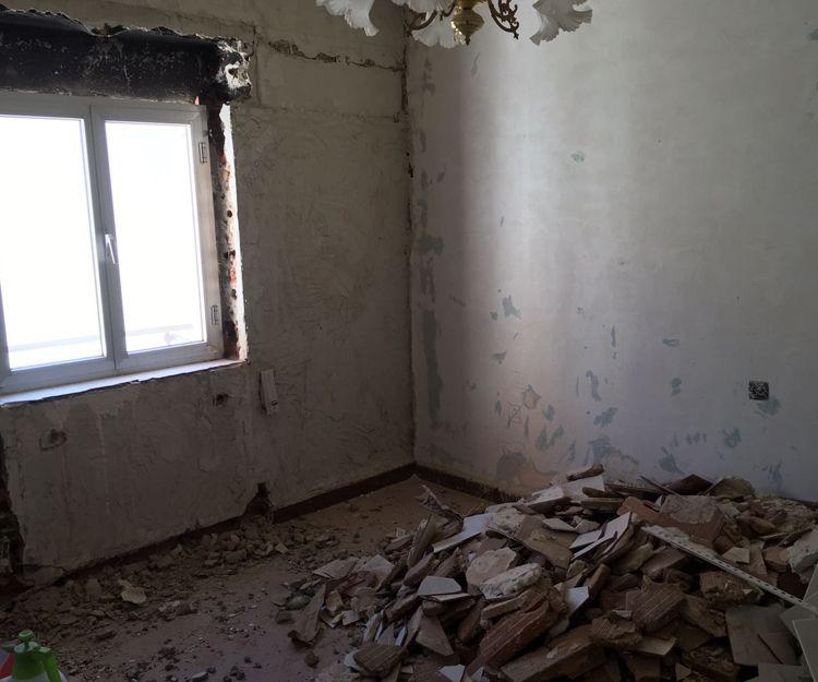 Reforma integral de salón de vivienda