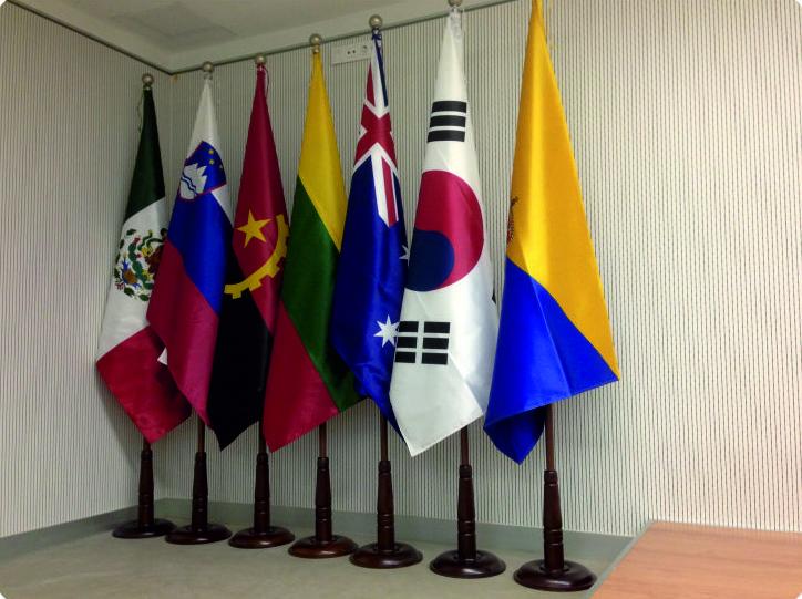 Banderas de interior