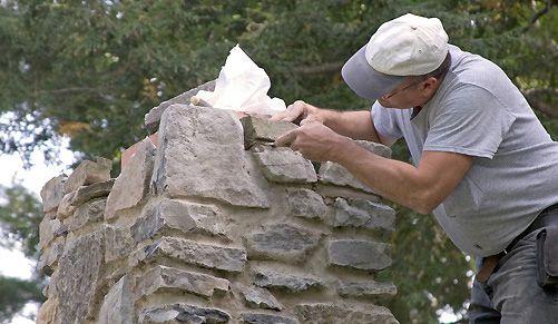 Colocación de piedra: Servicios de El Guaje Multiservicios