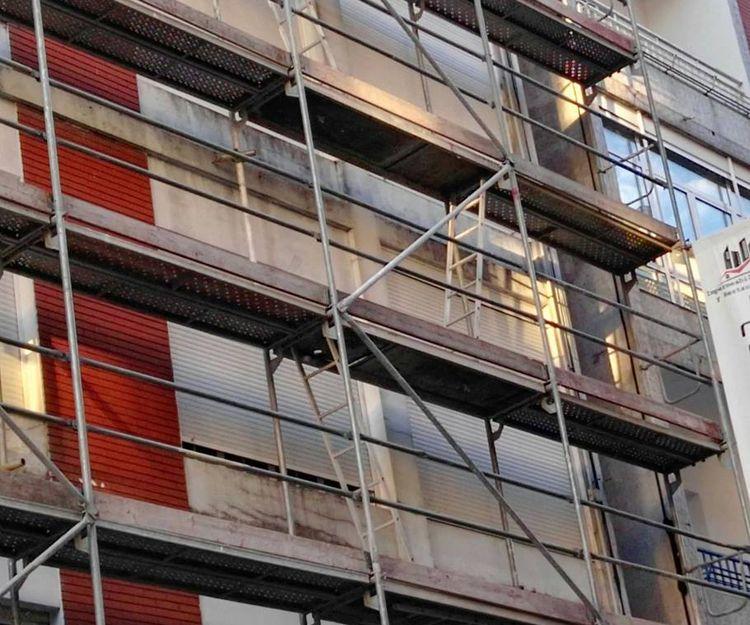 Rehabilitación de fachadas en Vigo