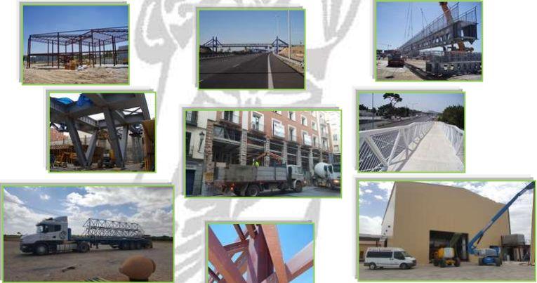 Nuestras obras: Servicios de Luvimetal