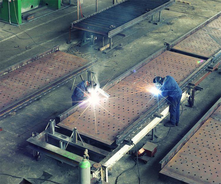 Fabricación de tuberías de acero para sondeos