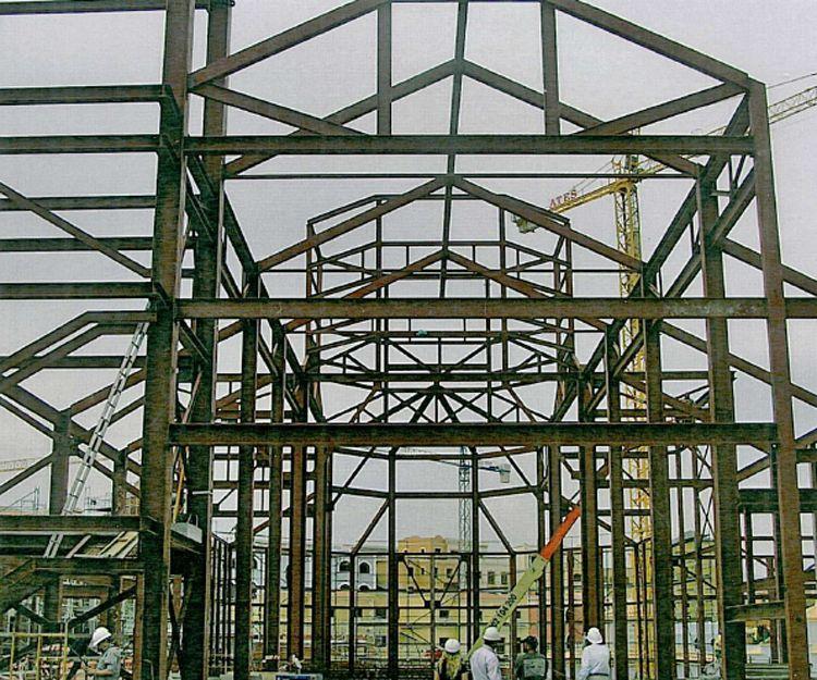Montaje de estructuras metálicas en Castilla La Mancha