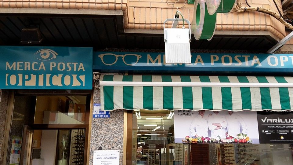Mercaposta Ópticos en Ciudad Real
