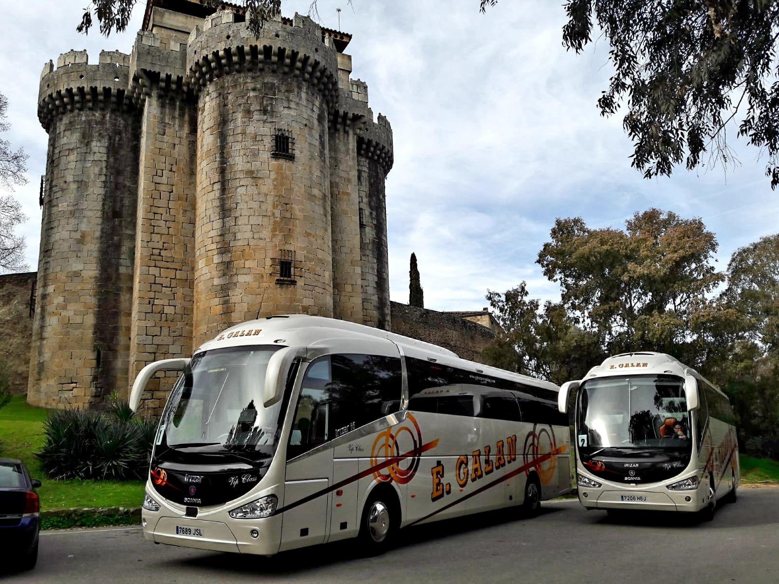 Alquiler de autobuses en Ávila