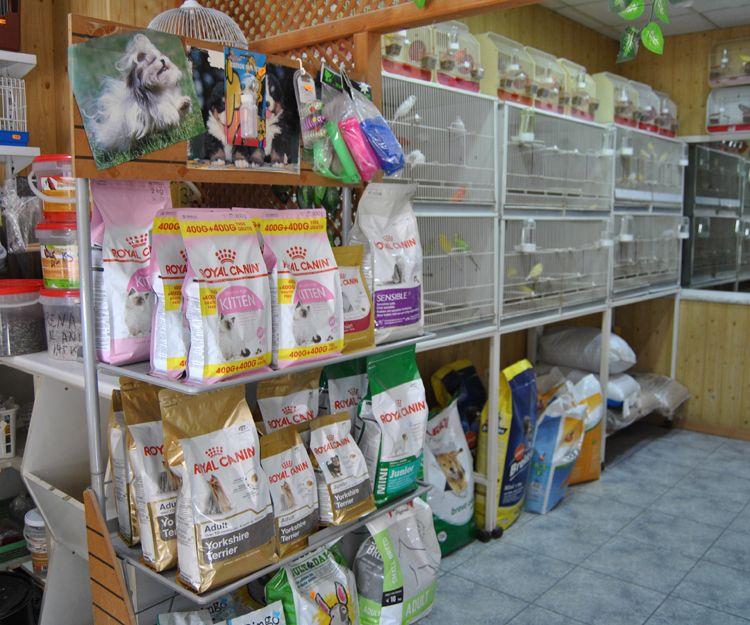 Tienda de piensos para mascotas y canarios en Cartagena