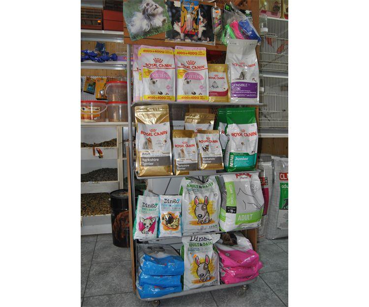 Tienda de piensos para mascotas en Cartagena