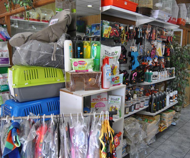 Tienda de piensos y complementos para mascotas en Cartagena