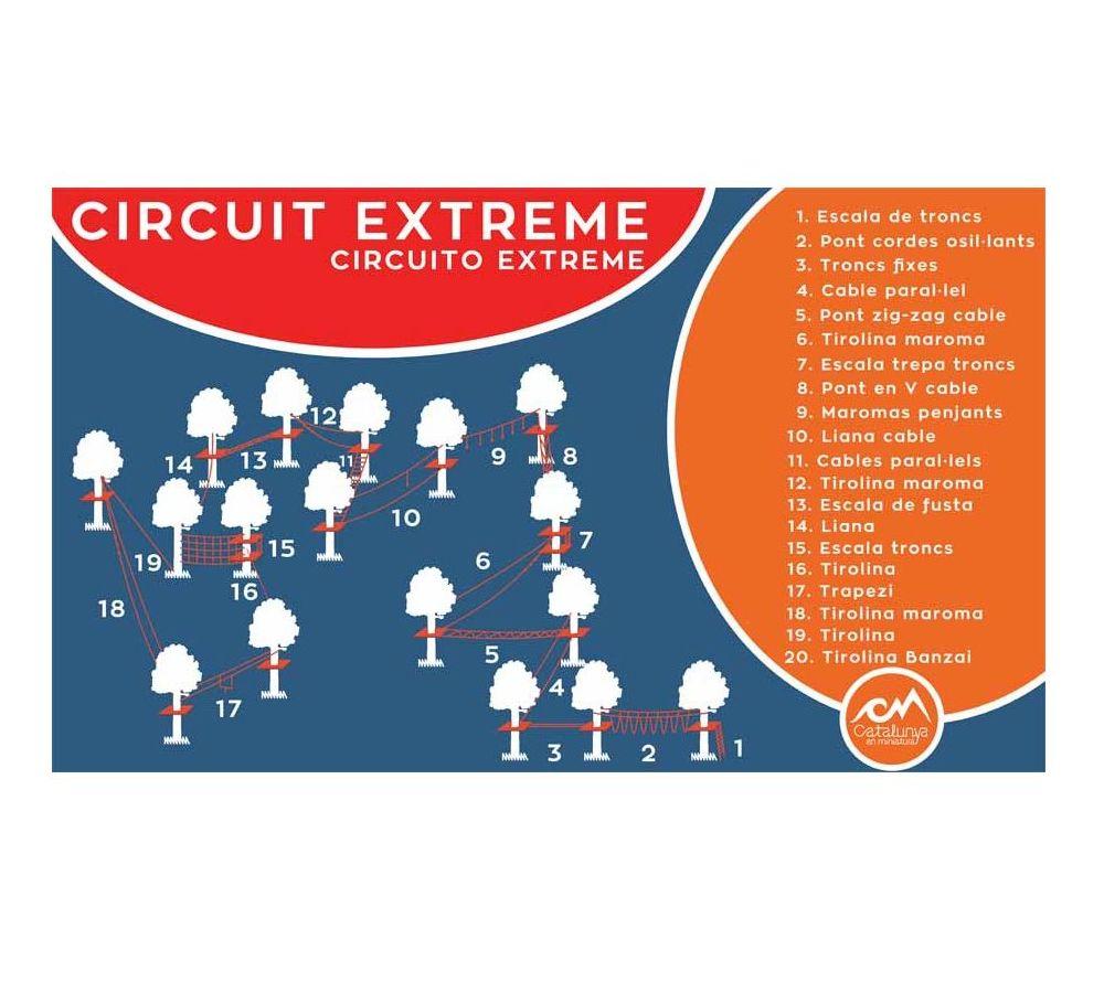 Circuito Y Servicios : Circuito extreme servicios de catalunya en miniatura