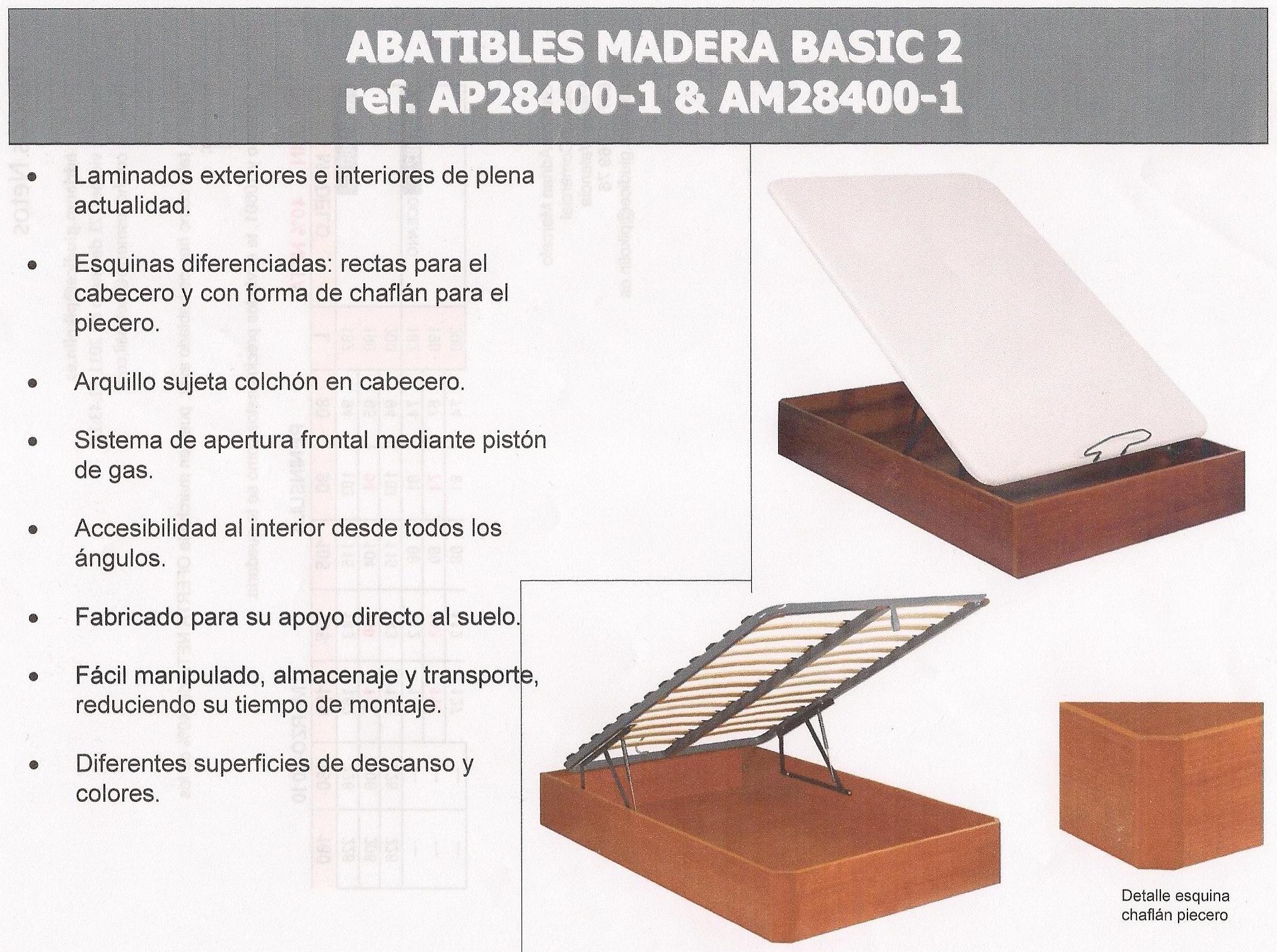 ABATIBLES MADERA: Pikolín de Colchones y Muebles Agustín Morro