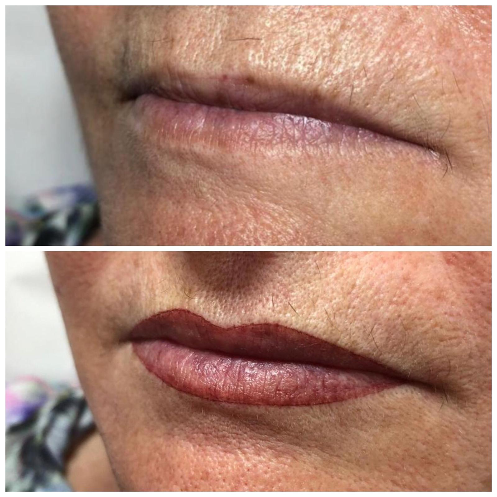 Micropigmentación labios en Barcelona
