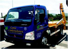 Foto 10 de Transporte de áridos y materiales de construcción en Avilés | Contenedores Gema