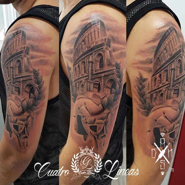 Coliseo Romano, tatuaje carabanchel madrid