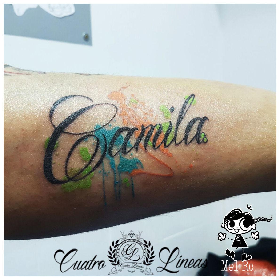 lettering tatuaje madrid carabanchel