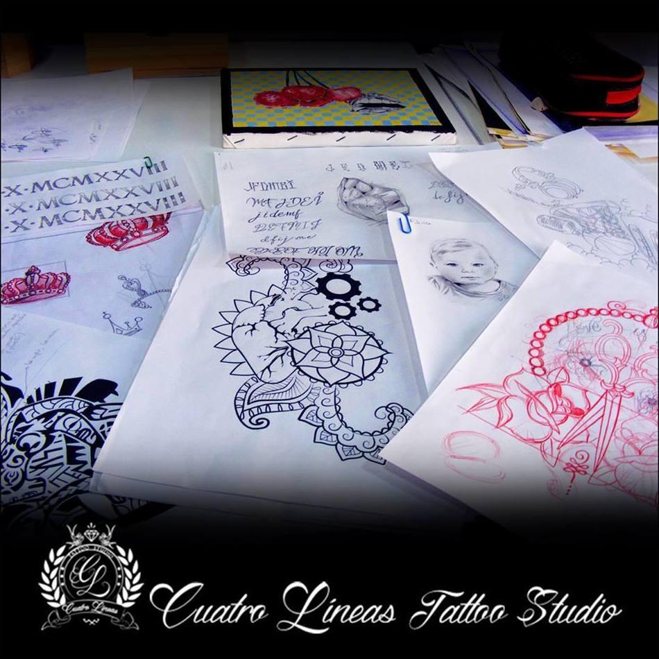 Cuatro Líneas Tattoo Studio, S.L.
