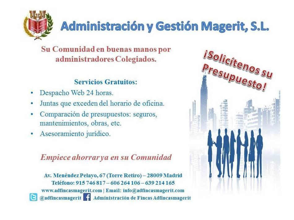 "Servicios Añadidos a ""AdFincasMagerit"""