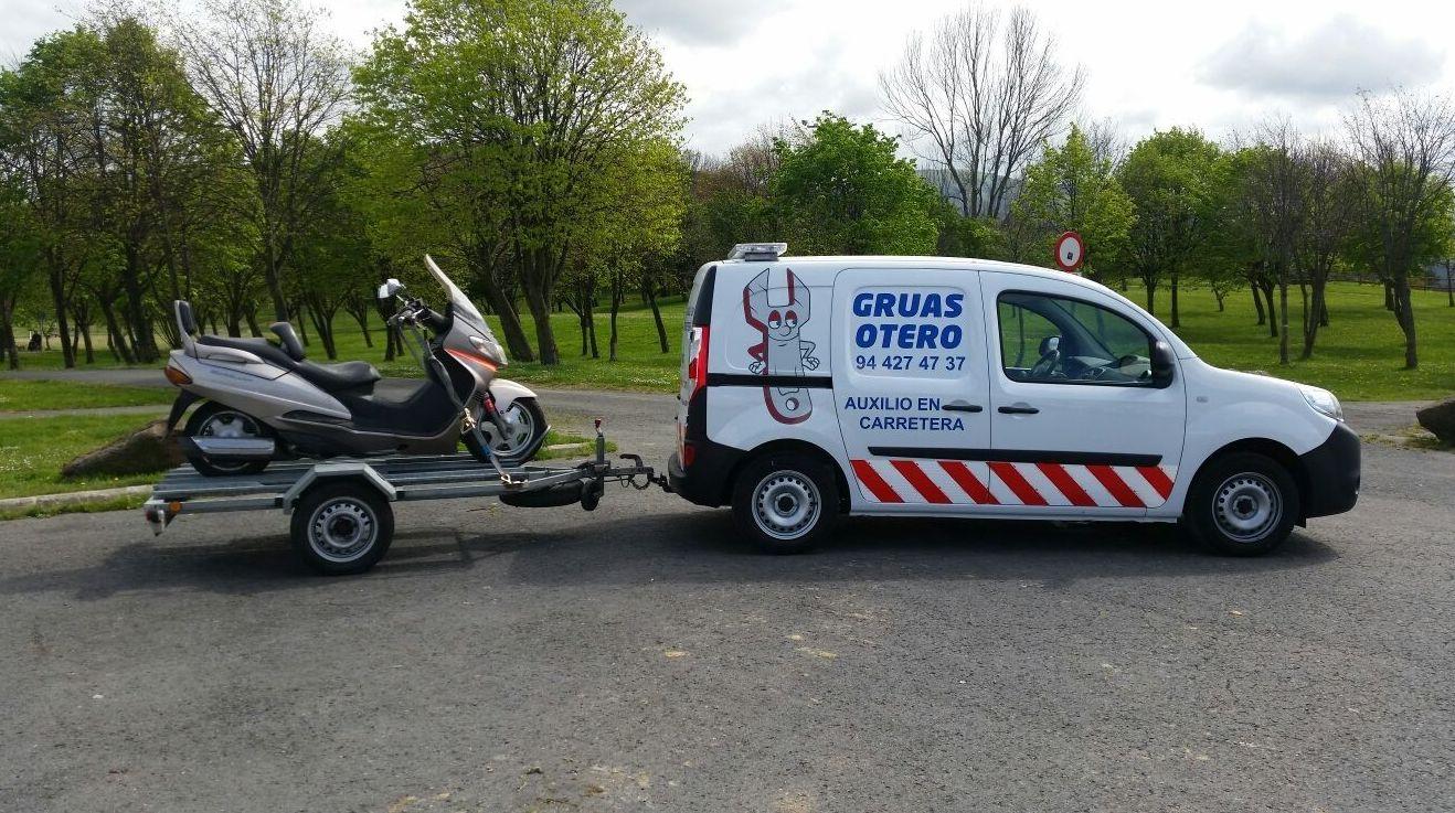 Reparaciones urgentes en carretera en Bilbao