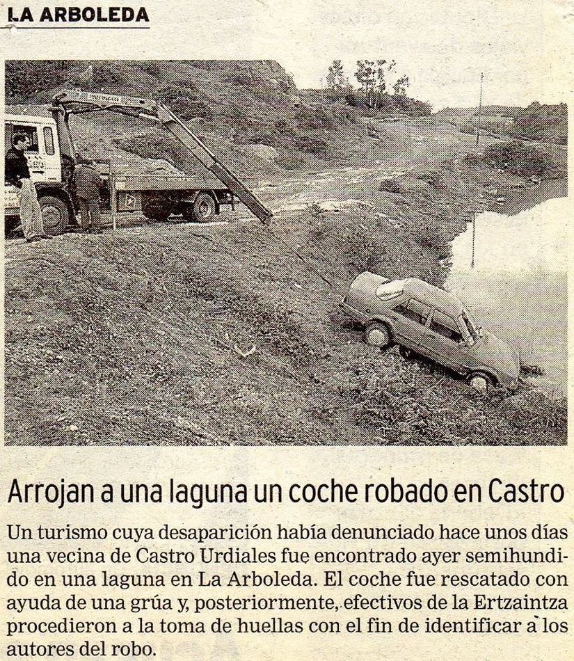 Rescate grua-pluma / año 1995