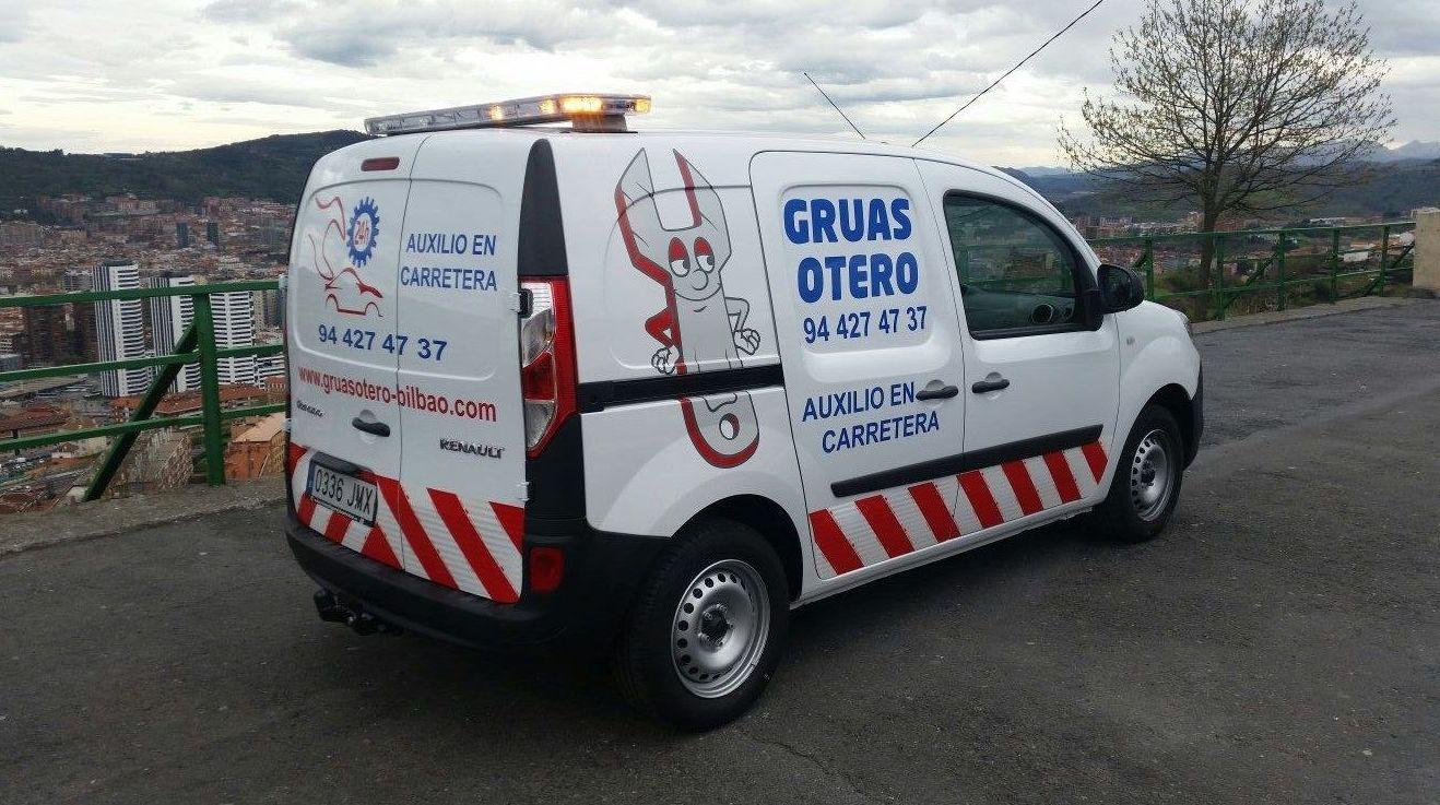 Asistencia urgente en carretera en Bizkaia