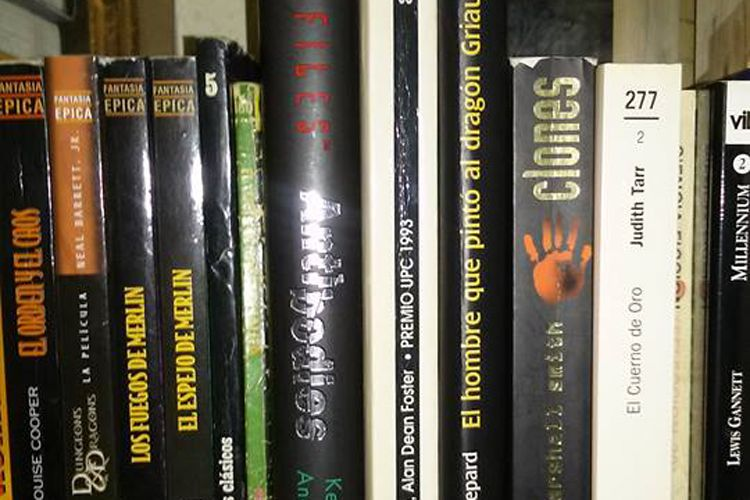 Libros descatalogados en Madrid