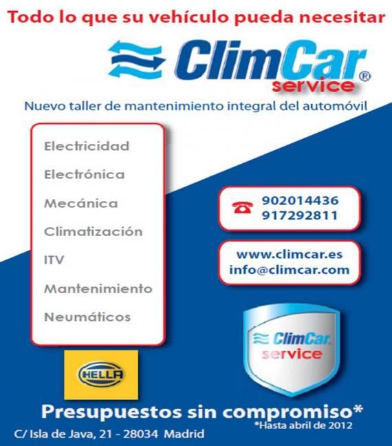 Foto 1 de Aire acondicionado automóviles en Madrid | Climcar Taller Multimarca en Madrid