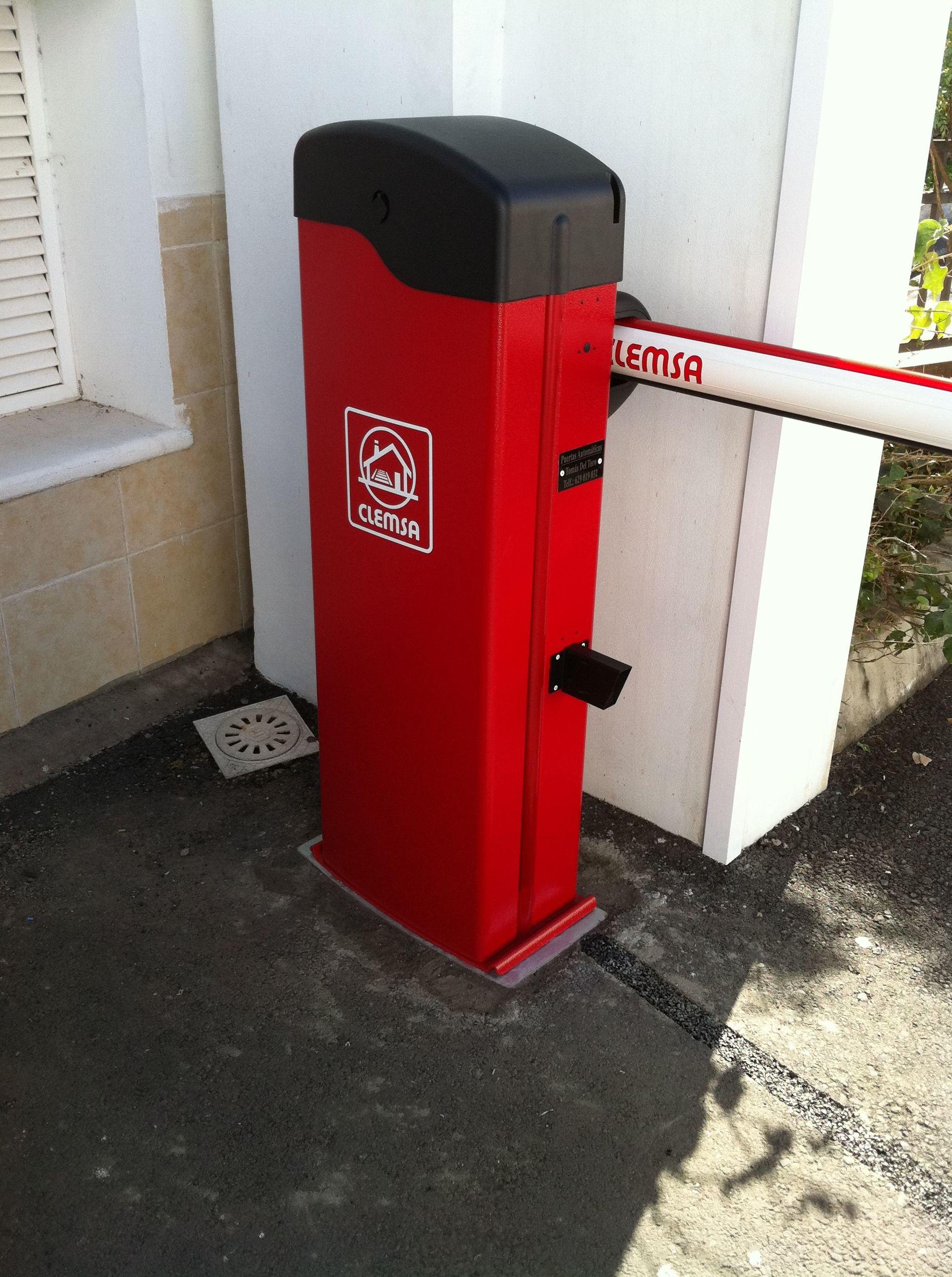 Barreras de acceso: Servicios de Puertas Automáticas Tomás del Toro