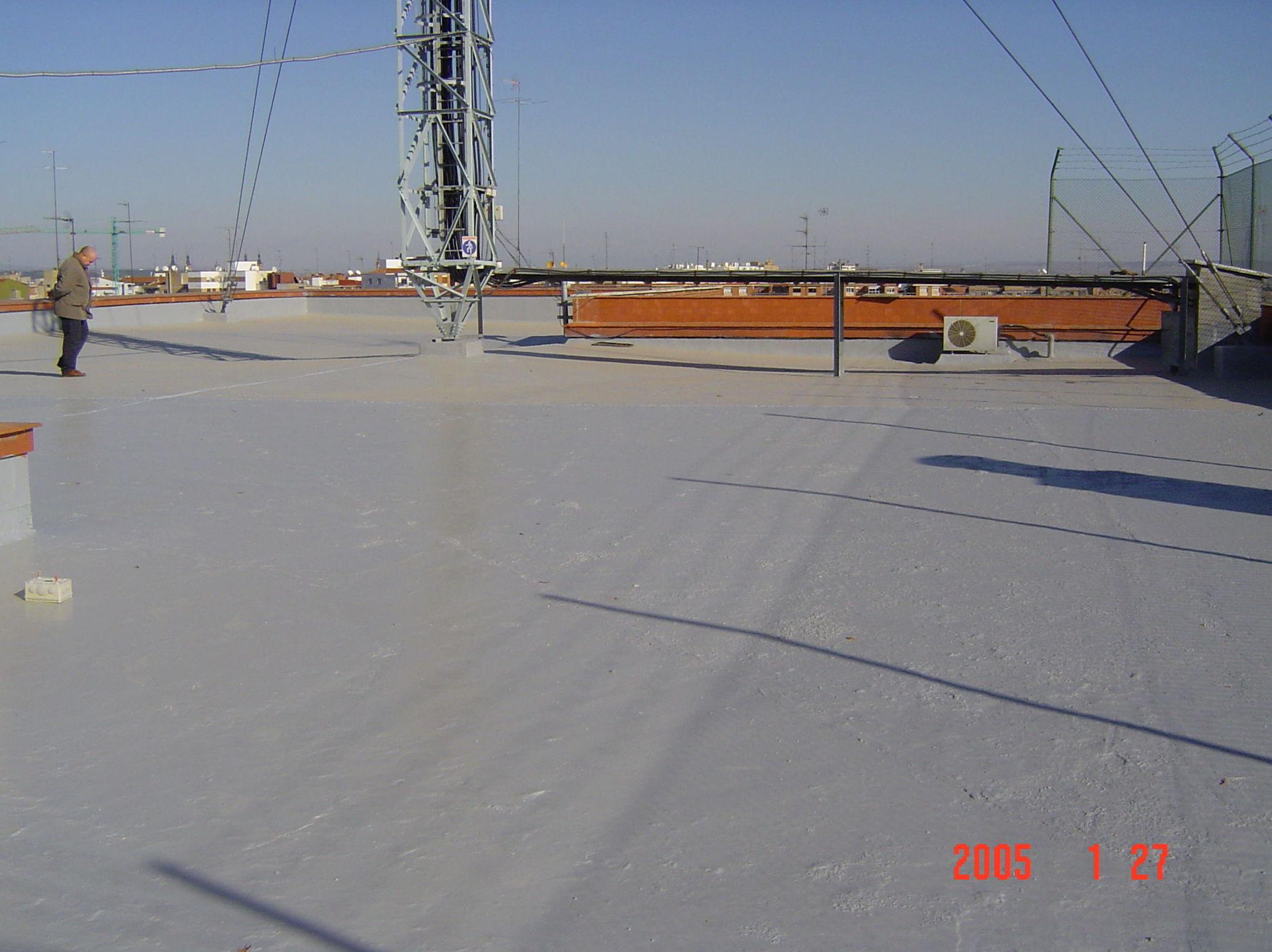 Aplicación de aislamientos en cubiertas