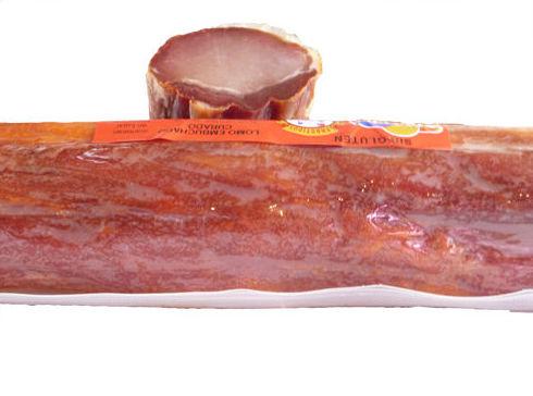Lomo de cerdo curado y adobado Hermanos González