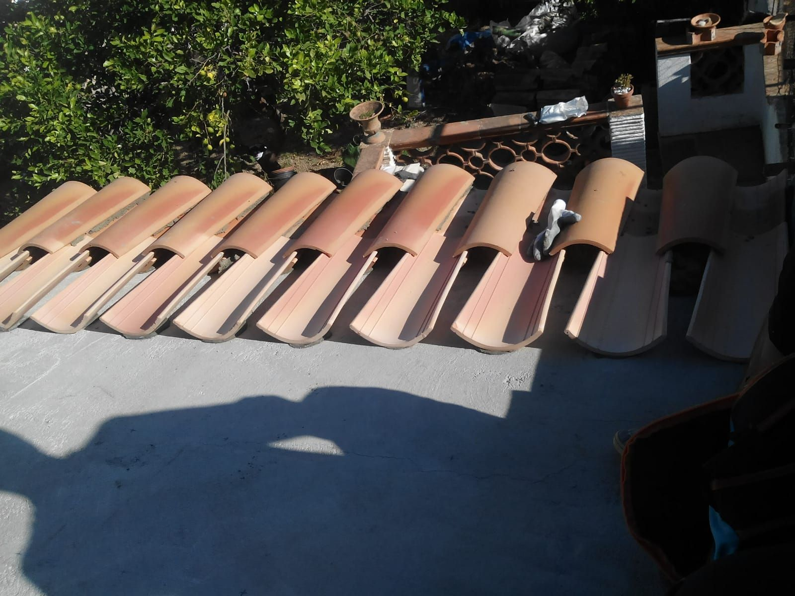 Arreglo de cubiertas
