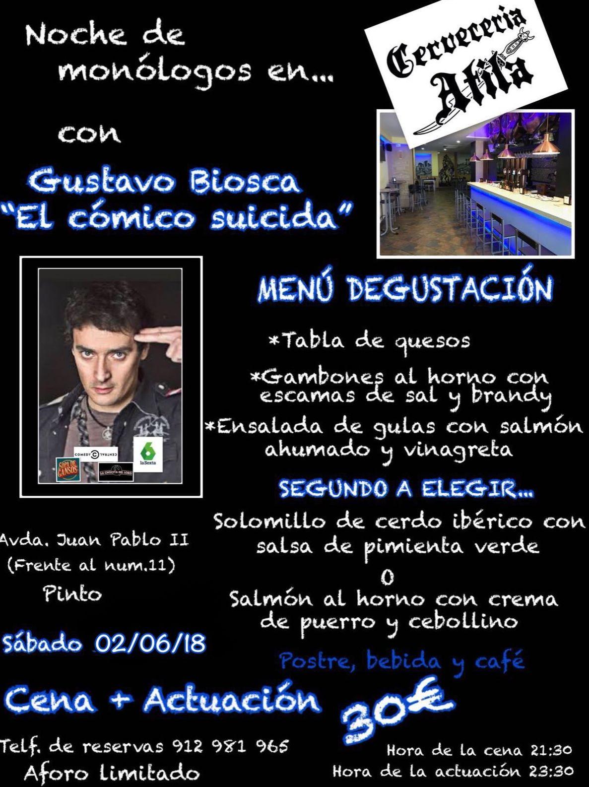 Gustavo Biosca.