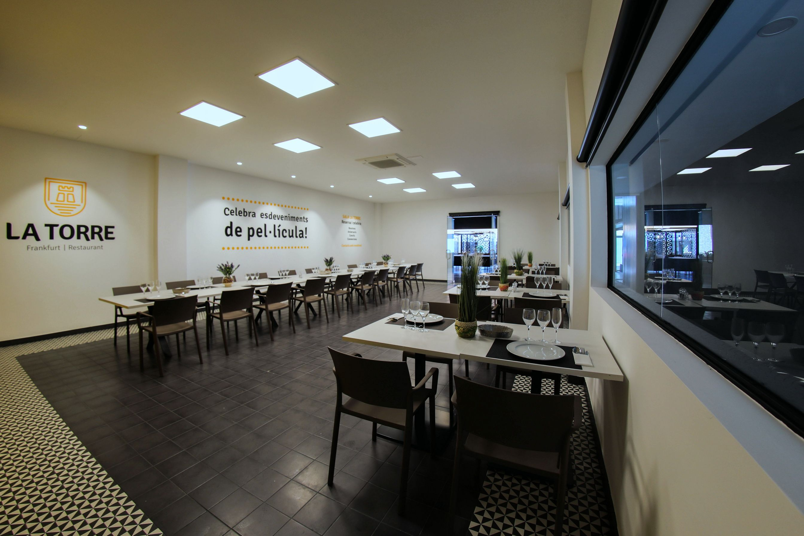 Restaurante de comida rápida en Tarragona