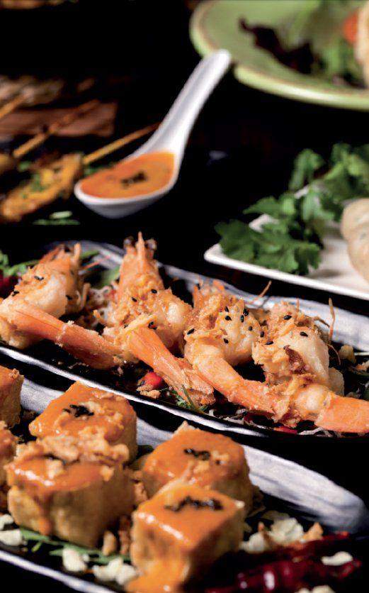 Entrantes: Carta de Prik Thai Restaurant