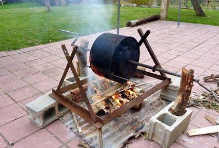 Restaurante con barbacoa en Girona