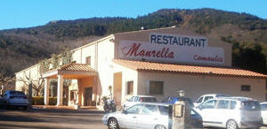 restaurante con piscina en La Vajol - Girona