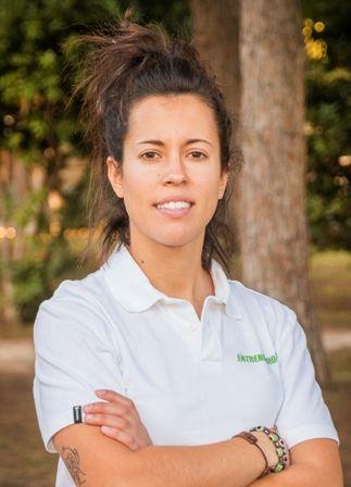 Virginia Javaloyes, una de nuestras entrenadoras