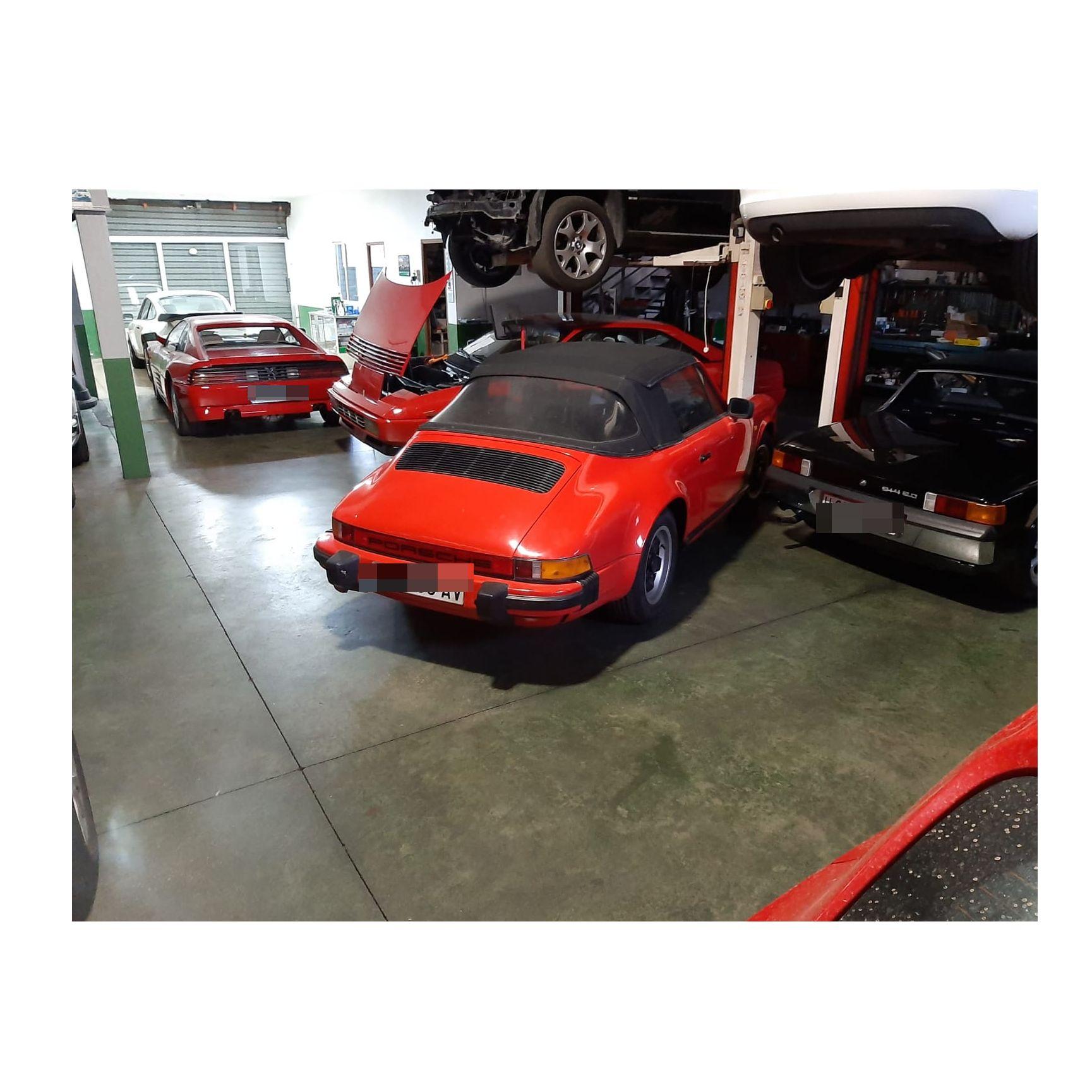 Restauración de coches clásicos: Servicios de Talleres Pabel