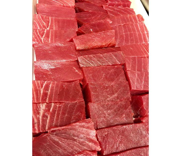 El mejor atún rojo para elaborar nuestro tataki