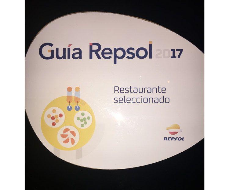 Restaurante seleccionado en la Guía Repsol 2017 en Úbeda