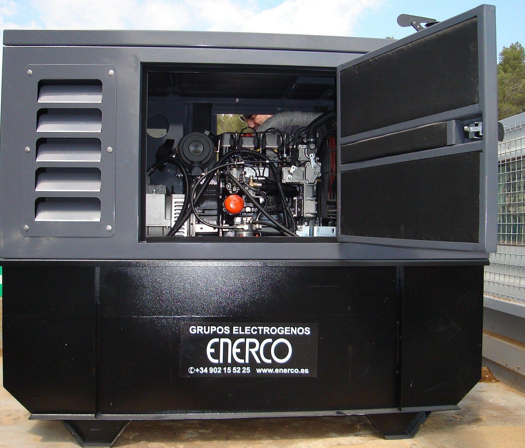 Grupos electrógenos compactos ENERCO