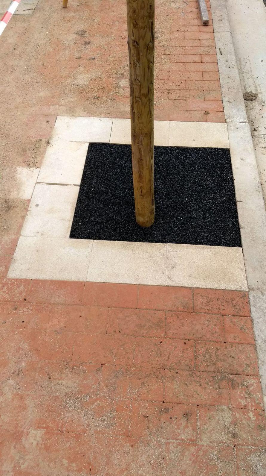 Alcorques en la vía publica Logroño