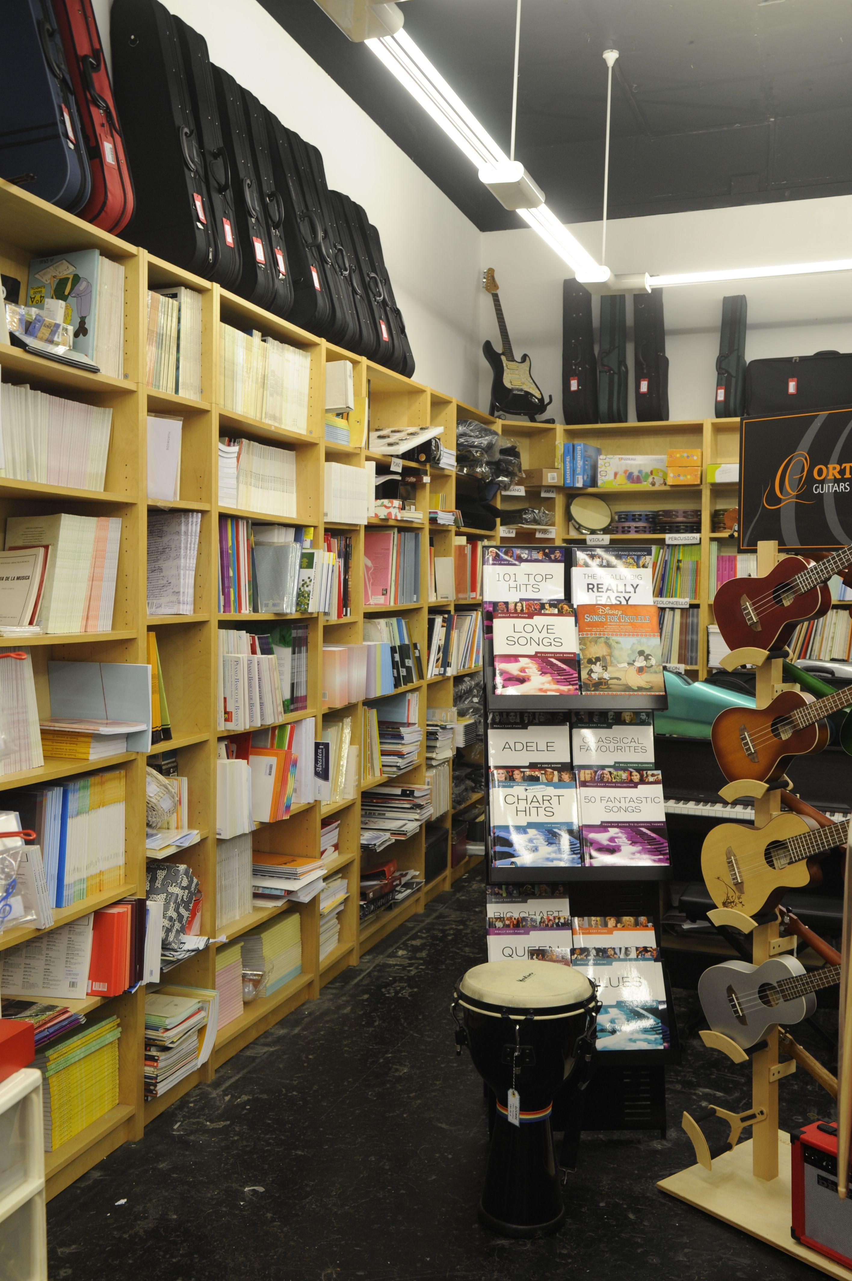 Tienda musical en Bilbao