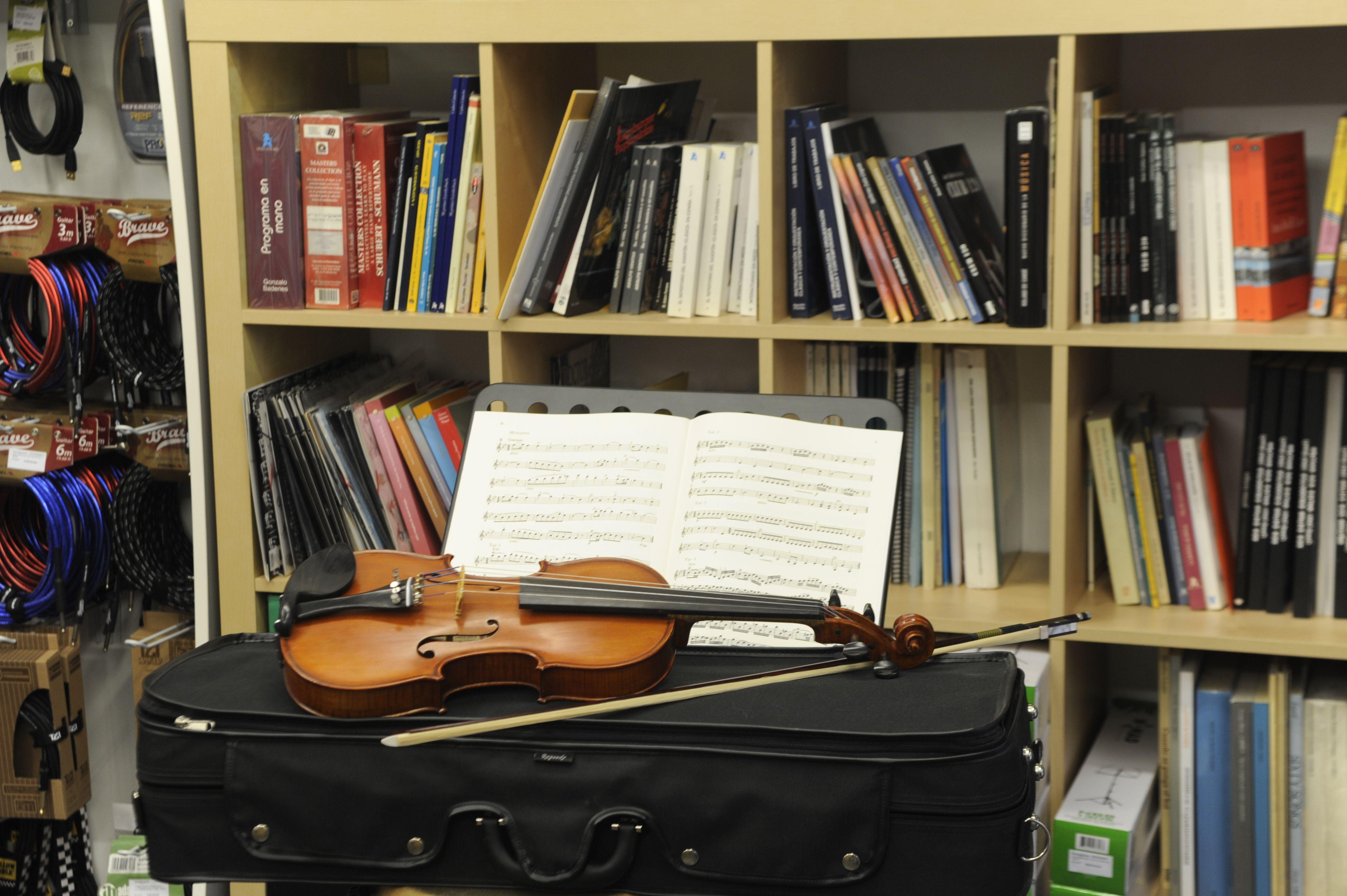 Partituras para violín en Bilbao